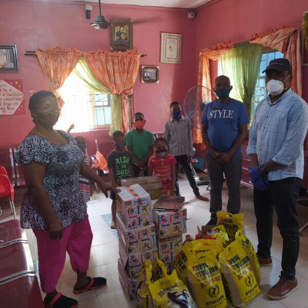 2020-AGL donates relief materials to the Chosen Child Orphanage Care Centre during the Covid 19 Lockdown